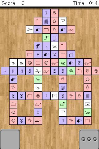 Screenshot Til3, a matching game