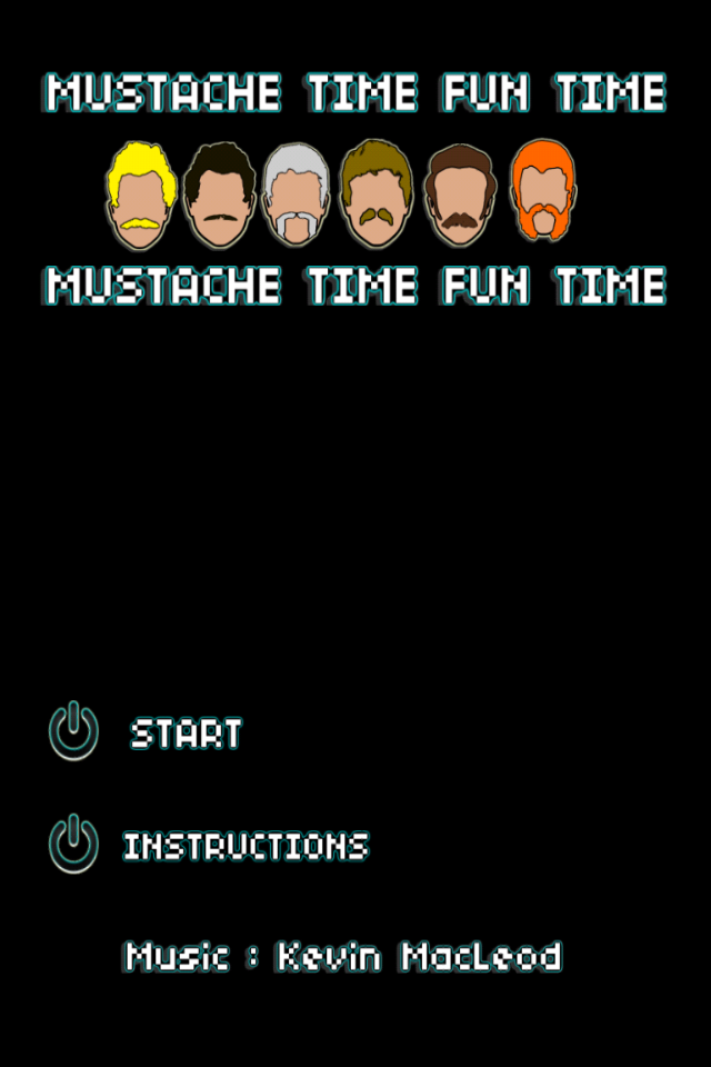 Screenshot Mustache Time Fun Time Pocket Edition