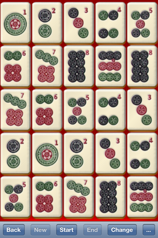 Screenshot zMahjong Genius